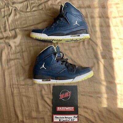 the best attitude fedeb 08a9f Details about Nike Air Jordan SC-1 Flight Luminary Blue Basketball Shoes  Mens 9.5 538698-435