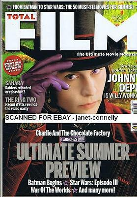 JOHNNY DEPP Nicole Kidman CHRISTOPHER LEE Steve McQueen Total Film Mag May  2005 | eBay