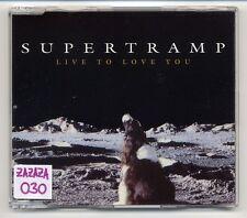 Supertramp Maxi-CD Live To Love You - 2-track Promo CD - SPCD 2208