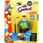 Playmates Toys Captain Mccallister The Simpsons Series 5 World Of Springfield Interactive Action Figure