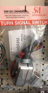 Sheemar SM160 Universal Turn Signal Switch W Hazards