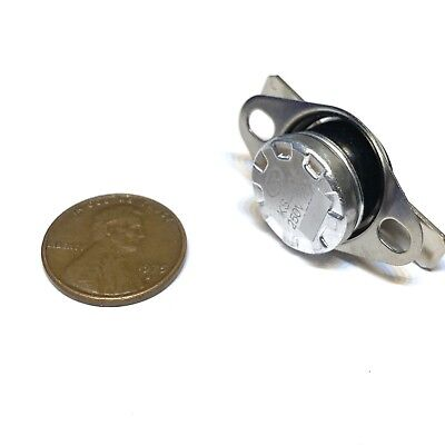 2 Pieces N//C 125ºC 257ºF normally closed Thermal  Thermostat switch KSD301 C26