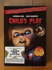 Child's Play Chucky's 20th Birthday Edition NEW w/ RARE Slipcover Horror DVD