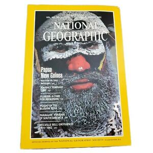Vintage-National-Geographic-Magazine-Volume-162-No-2-August-1982-Mint-Condition
