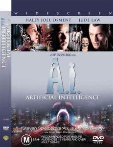 Artificial-Intelligence-DVD-2002-2-Disc-Set-REGION-1-Haley-Joel-Osment
