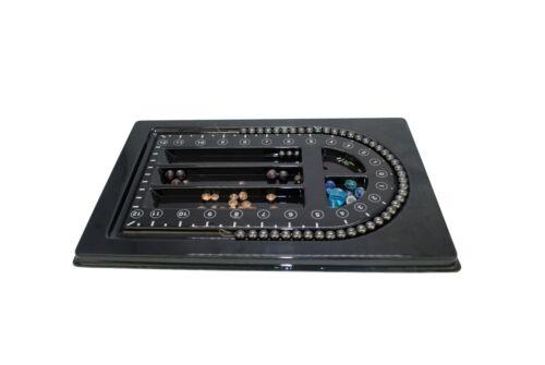 Plastic Bead Board Tray Beading Stringing Design Jewellery 210 x 320mm J1003