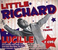 LITTLE RICHARD LUCILLE - 2 CD BOX SET - TUTTI-FRUTTI, LONG TALL SALLY & MORE