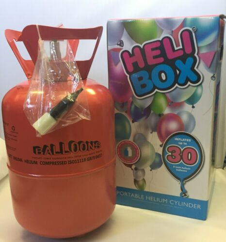 Balloon Helium Gas Disposable Cylinder Canister Birthday Party