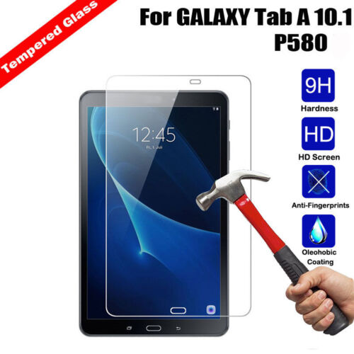 Tempered Glass Screen Protector Film Cove for Samsung Galaxy Tab E A S3 Tablet