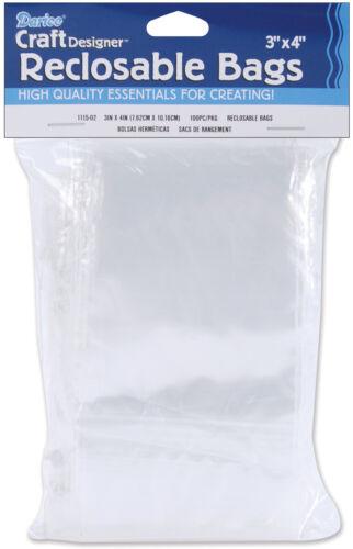 Craft Designer Recloseable Bag 3 X 4 Inches