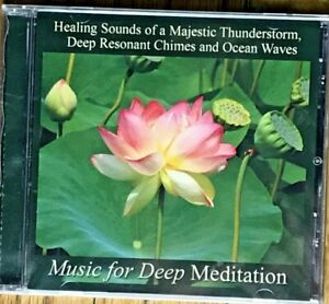 Details about Majestic Thunderstorm, Chimes and Ocean Waves, Music for Deep  Meditation CD