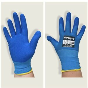 2 PAIRS MENS GENERAL HANDLING GLOVES Wet&Dry Conditions SAFETY XXL/11 GREAT GRIP