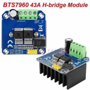 Details about BTS7960B DC 43A Stepper Motor Driver Double H-Bridge PWM For  Arduino Smart Car