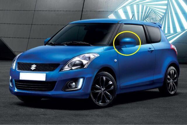 NEW Suzuki SWIFT Wing Mirror Back Cover Cap LEFT PASSENGER 84728-68L00-ZUM BLUE