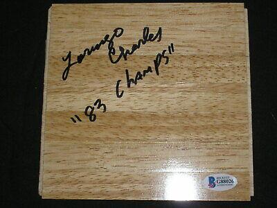 Lorenzo Charles /& Dereck Whittenberg Hand Signed North Carolina St 16x20 Photo