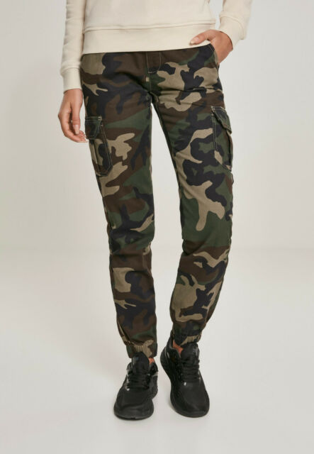 US Womens BDU Urban Camo Trousers Ladies Cargo Pants Army Military All Sizes
