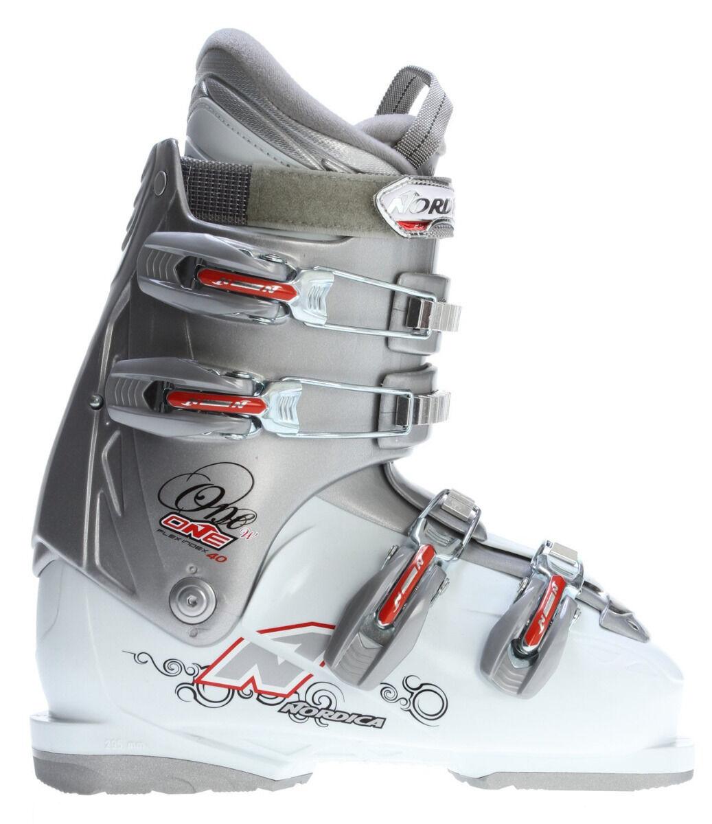 Nordica One 40 Ski Boots  Women's ski boots mondo 23.5 no box  NEW
