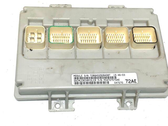 02 Dodge Caravan P04727072AE BCM BCU With Security Body Control Unit Module