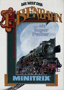 Trix-Die-Welt-der-Eisenbahn-Prospekt-1978-brochure-model-railway-Minitrix