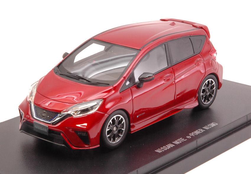 Nissan Note E-power Nismo 2017 Metallic rosso 1 43 Model 45442 EBBRO