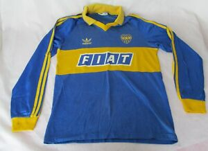 sports shoes 2f9ca c996c VINTAGE BOCA JUNIORS ARGENTINA FOOTBALL JERSEY 90'S FIAT ...