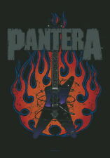 "PANTERA FLAGGE / FAHNE ""GUITAR"" POSTERFLAGGE"