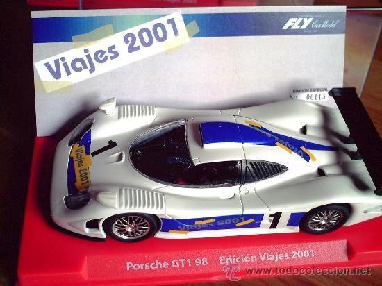 FLY 99167 EDICION SPECIAL TRAVEL 2001 Porsche GT1 98 SLOT 1 32 NEW NEW