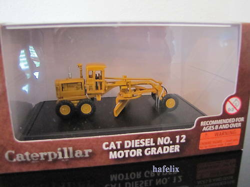 Norscot 55173 CAT Diesel Motor Grader Nr.12 1:87 Neu //OVP