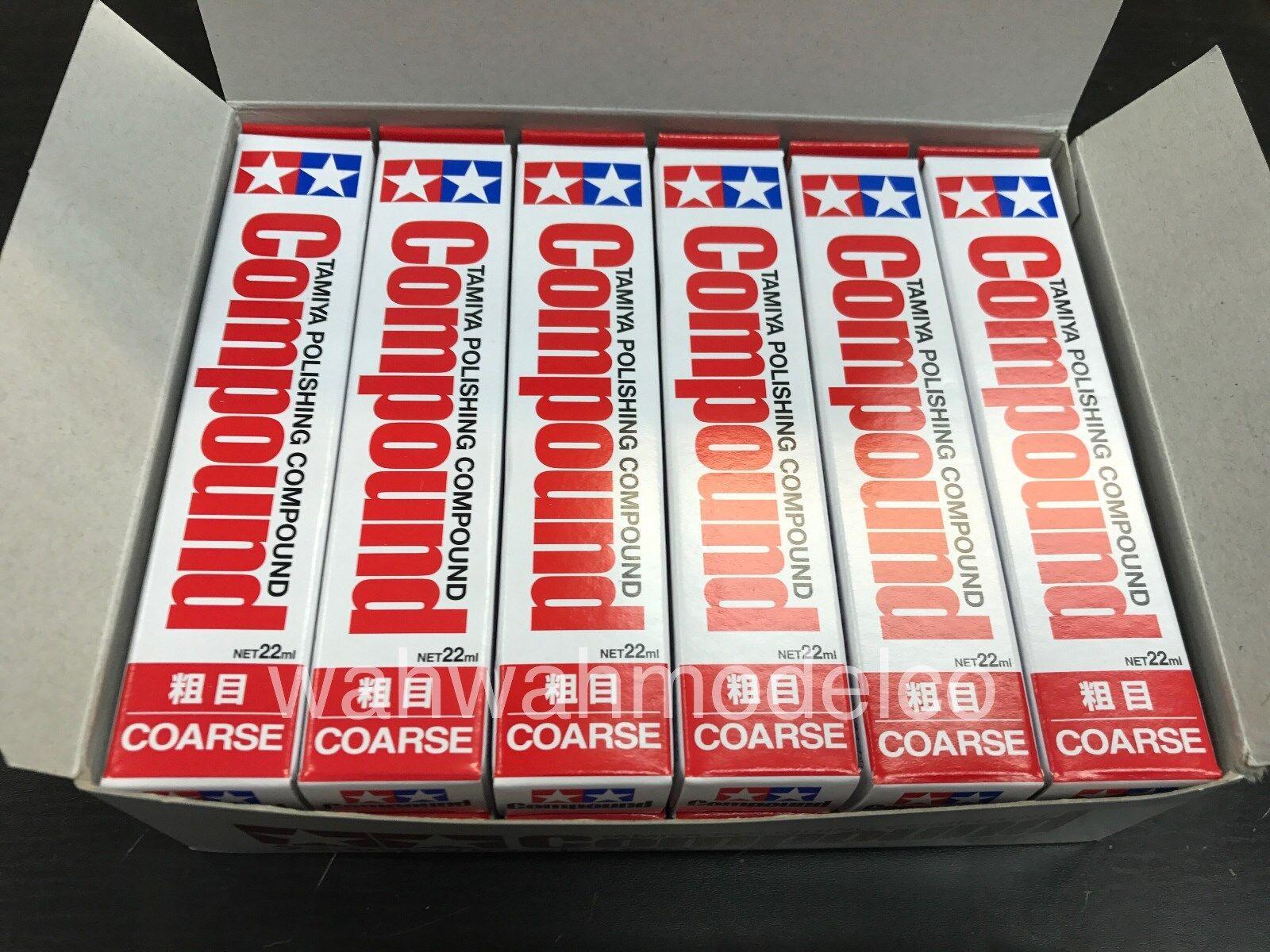 Tamiya 87068 polieren verbindung (grob) eine box 12 pc