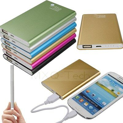 Slim Thin 12000mAh Portable External Battery Charger Power Bank For Cell Phone