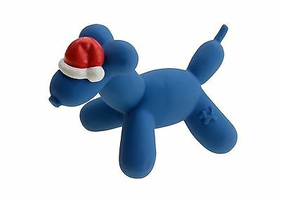 Charming pet products Holiday Balloon Dog with Santa Hat