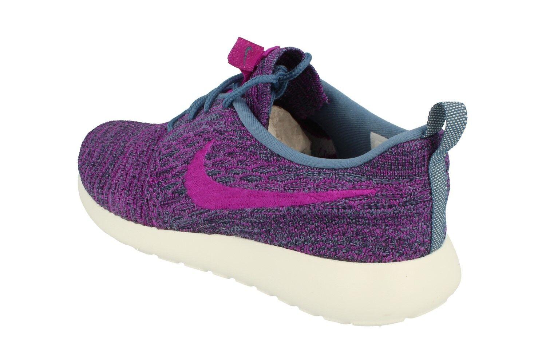 Nike Da Donna Rosherun Flyknit Scarpe esecuzione Da Ginnastica in esecuzione Scarpe Scarpe Scarpe da Ginnastica 704927 405 19b4d6