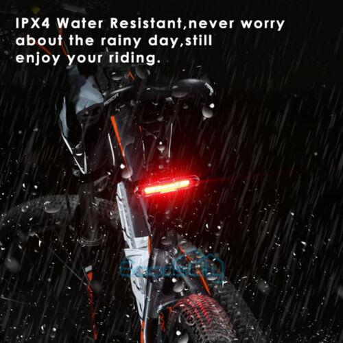 2 set Waterproof LED Lamp Bike Bicycle Front Head Light+Rear Safety Flashlight