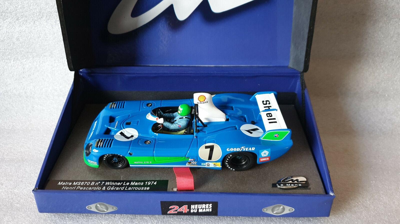 LMM Le Mans Miniatures 132018 7M MATRA MS670 B  7 winner Le Mans 1974 NIB