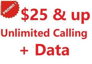 Promo! Mobile Plans:  Unlimited Canada-wide Calling plus data(LTE-4G), starting from $25 Canada Preview