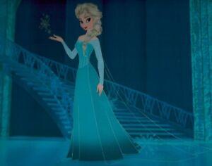 Frozen-Elsa-Limited-Edition-Cel-78-150-Walt-Disney-2013-Elegant-lovely