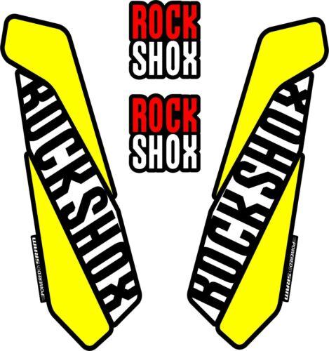 ROCK SHOX  FORK Stickers Decals Mountain Bike Down Hill MTB #b068