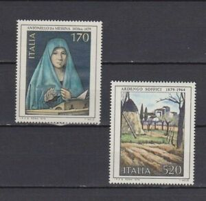 S17508) Italy MNH 1979 Paintings 2v