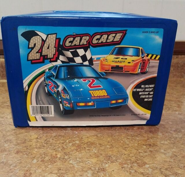 24 CAR CASE TARA TOY CORP FOR HOT WHEELS MATCH BOX CARS STYLE 20150