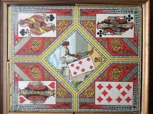 ANTIQUE FRENCH GAME.REGLE DU JEU DE NAIN -JAUNE. | eBay