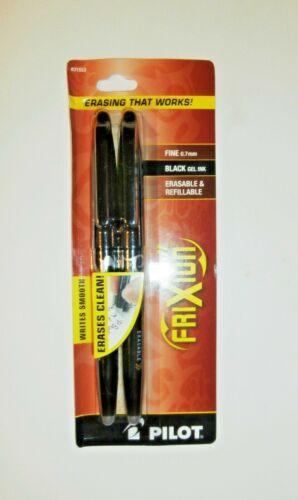 Pilot Erasable Gel Pen FriXion Ball Fine Point 0.7mm #31553 1 Pack 2 Pens