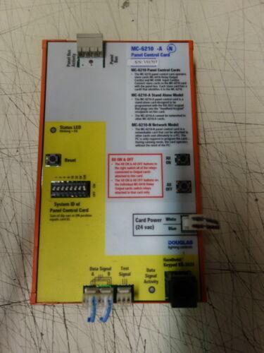 Douglas Lighting Controls MC-6210 N Panel Control Card MC6000