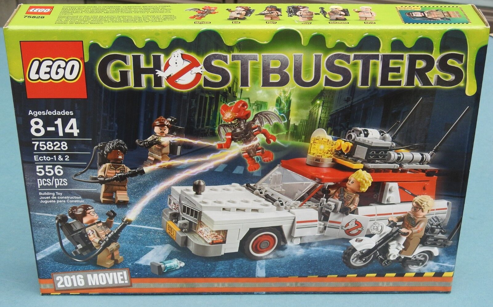 Brand NEW Sealed LEGO Ghostbusters Ecto-1 & 2 75828