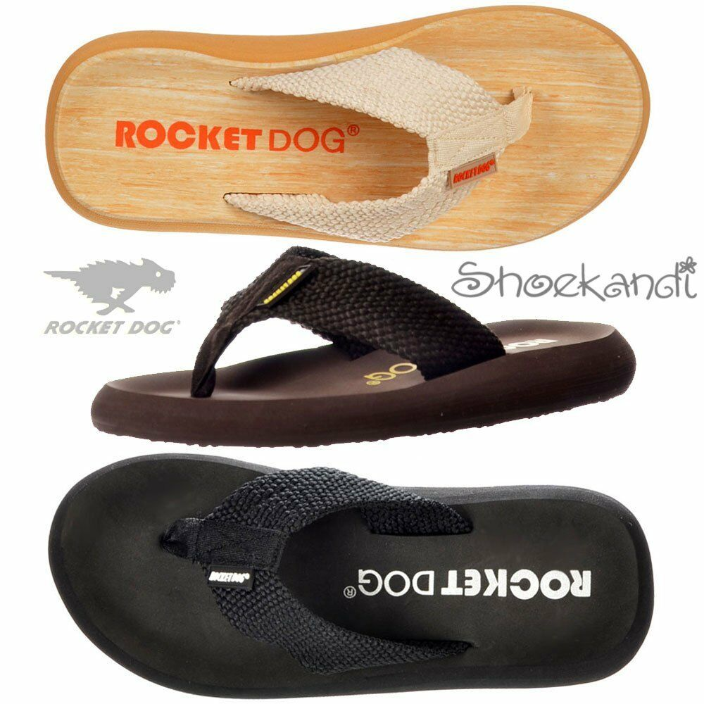 WOMENS BEACH ROCKET DOG SUNSET WEBBING FLAT FLIP FLOPS BEACH WOMENS POOL SHOES SANDALS SIZE 313e93