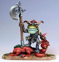 Frog Dragon Slayer Dsm 7914 Visions In Fantasy - Dark Sword Miniatures Pewter