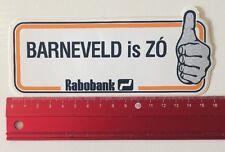 Aufkleber/Sticker: Rabobank - Barneveld Is ZÓ (10061647)