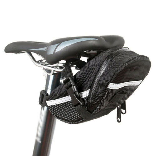 1*MTB Mountain Bike Bag Pouch Road Bicycle Cycling Seat Saddle Bag Accessories