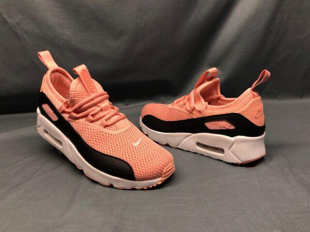 Nike Air Max 90 EZ Girls Shoes Size 7 Color Coral Stardust/black