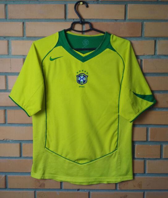 Brazil Jersey 2004 2006 Home S Shirt Nike Brasil Football Soccer Trikot Maglia