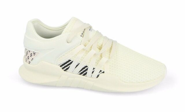 low priced 5fe66 a47b0 Adidas EQT RACING ADV W Off White Black Running BY9799 (470) Womens Shoes
